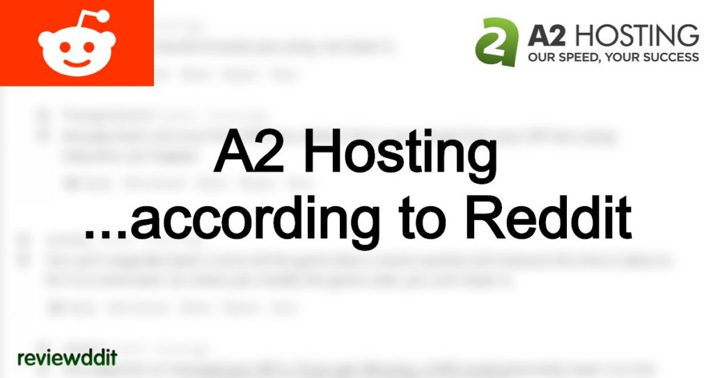 Lead image for our A2 Hosting Review on Reddit